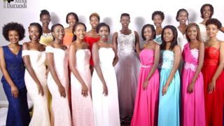 Abari guhiganwa muri Miss Burundi 2018
