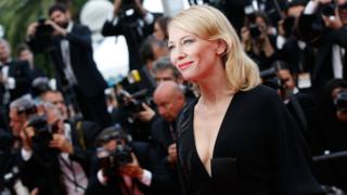 Cate Blanchett at Cannes in 2015