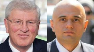 David Hodge and Sajid Javid