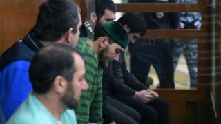 Обвиняемые по делу об убийстве Немцова