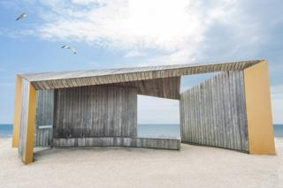 Bexhill Promenade Shelter by Adam Regan, Bexhill, England