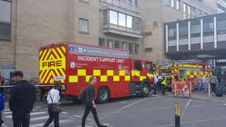 Emergency services at hospital