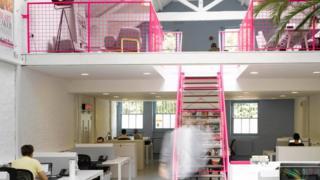 """Una oficina de """"diseño creativo"""""""