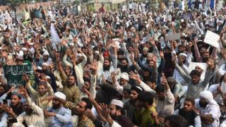 Lahore protests