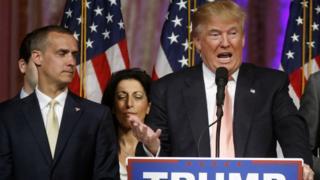 Donald Trump and Corey Lewandowski
