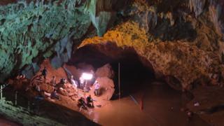 Спасательную операцию в пещерном комплексе подробно зафиксировали на карте