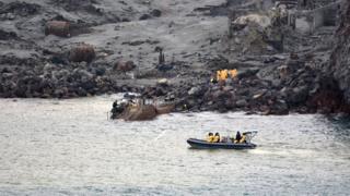 The recovery operation at Whakaari/White Island on 13 December