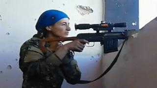 Курд мерган қизи