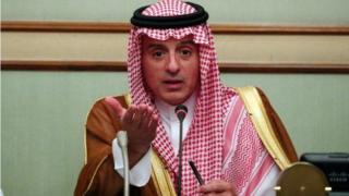 Wasiirka arimaha dibadda Sucuudiga, Caadil Al-Jubayr.