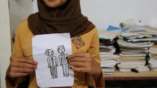 Child marriage illustration