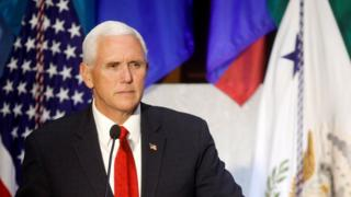 Vice-President Mike Pence warned Venezuela's Supreme Court the US may act against it