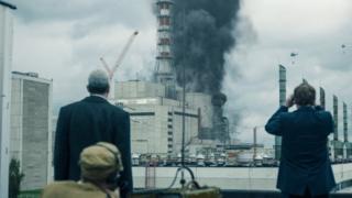 Imágenes de la serie Chernóbil.