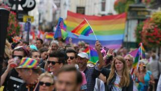 Channel Islands first Pride parade