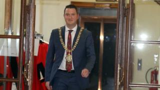 New Lord Mayor of Belfast John Finucane