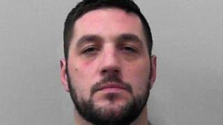 Phillip Barrett has been convicted of a number of offences including possession of an offensive weapon and battery