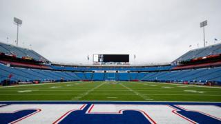 Пустой стадион, США
