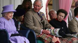 Princess Anne at Braemar Gathering