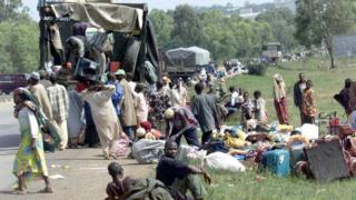 Ndị gbara ọsọndụ na Plateau n'afọ 2001