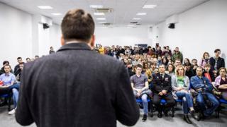 Cторонники Навального