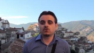 Mayor Davide Zicchinella