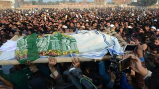زینب کا جنازہ