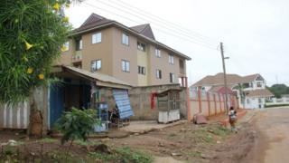 This June 7, 2019 image shows the Silver Spring residence in Kumasi, where two Canadians women, 19 and 20 years old, were living before having been kidnapped late on June 4