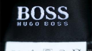 Hugo Boss label