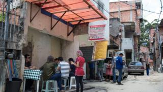 Resturante em favela