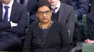 Konika Dhar before the Home Affairs Select Committee on 19 January 2016