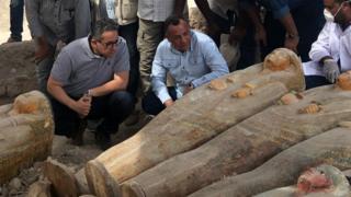 كشف أثري في مصر هو الأضخم والأهم من نوعه منذ سنوات