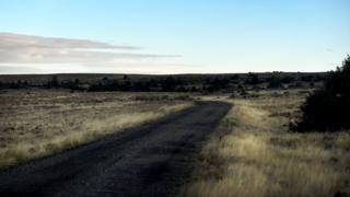 Dirt road near where Matthew Shepard was left to die