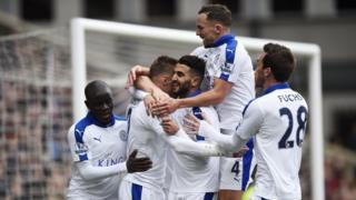 Abakinyi ba Leicester City bigina igitsindo