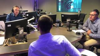 Tommy (not his real name) speaking on BBC Radio Scotland