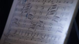 рукопись второй симфонии Густава Малера