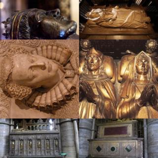 Королевские надгробия в вестминстерском аббатстве
