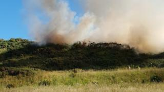 Buckpool fire
