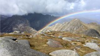 Goatfell rainbow