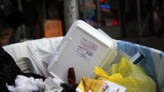 styrofoam, lingkungan, sampah