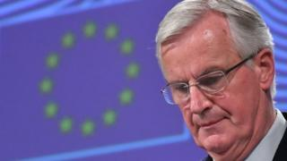 EU chief Brexit negotiator Michel Barnier in Brussels, Belgium 14 November 2018