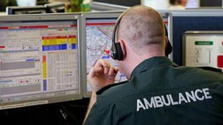 Ambulance control room