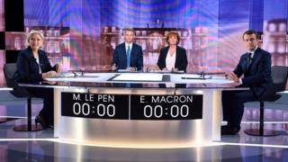 French presidential debate on 3 May 2017