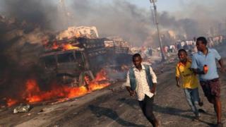 حمله روز چهارده اکتبر در موگادیشو