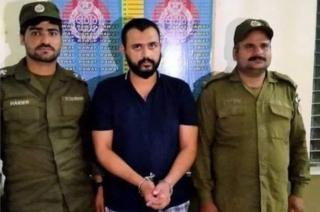 Hasan Siddique in police custody