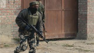 File photo of Indian soldier in Kashmir