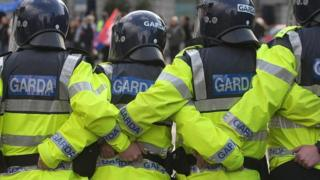 Garda officers