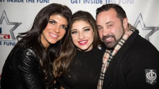Teresa, Gia and Joe Giudice in 2014