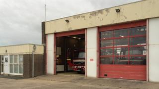 Walney fire station
