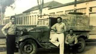 Viaje de tres venezolanos en 1978.