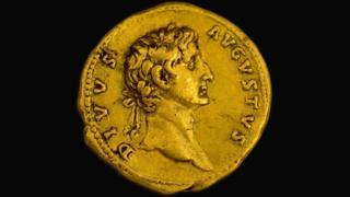 """Portrait of the emperor """"Deified Augustus"""""""