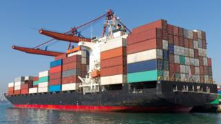environment Container ship